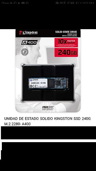 Disco Duro SSD - M.2 - 240GB