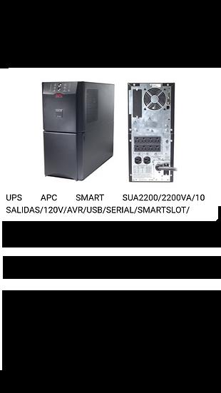 Ups APC Smart SUA2200 - 2KVA