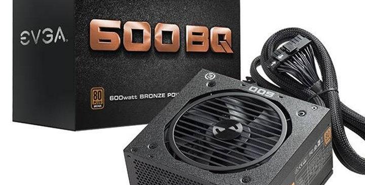POWER SUPPLY EVGA 600W GAMING BRONZE
