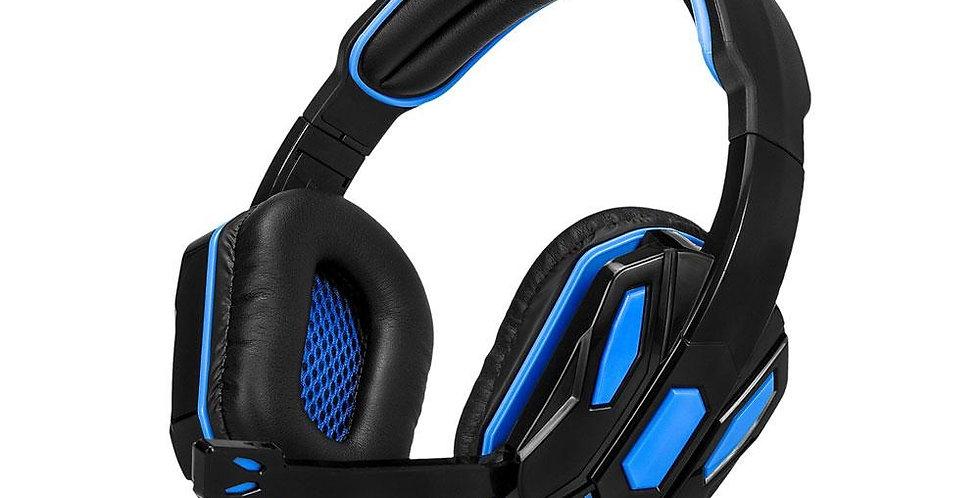 Audifono Stereo Argom Con Microfono 3.5MM Negro + USB 2.0