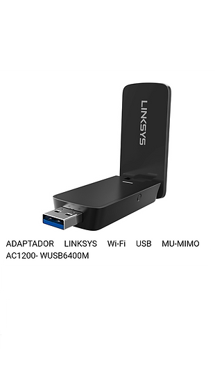 Linksys - USB - WIFI - Adaptador