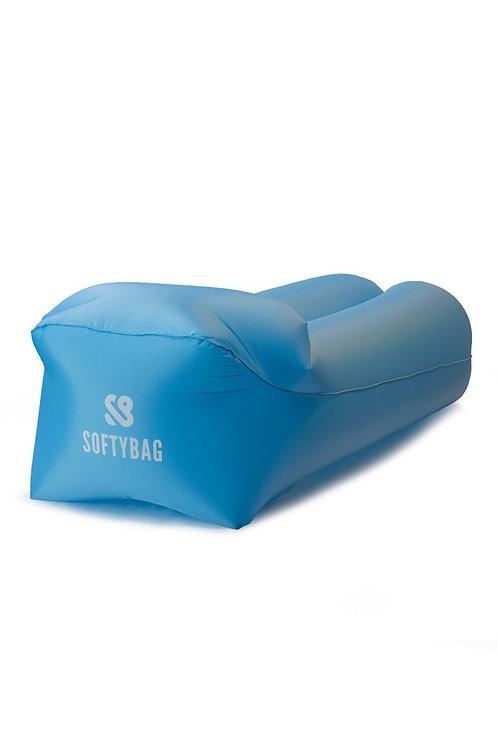 Softybag levegőfotel - kék (poliészter)
