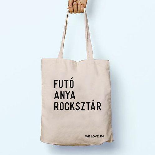 """""""Rocksztár mami"""" textil táska"""
