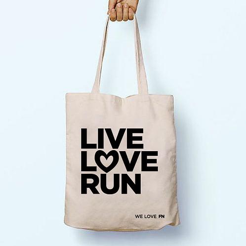 """""""LIVE,LOVE"""" textil táska"""