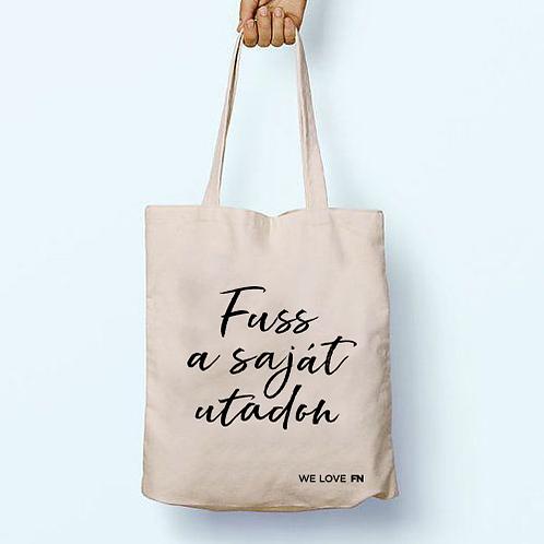 """""""Fuss a saját utadon"""" textil táska"""