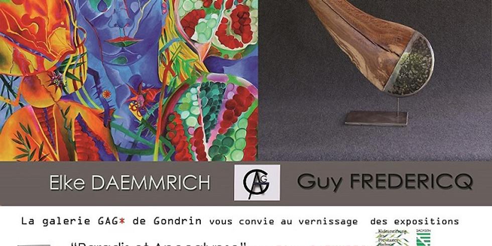Vernissage Exposition Elke Daemmrich & Guy Frédéricq