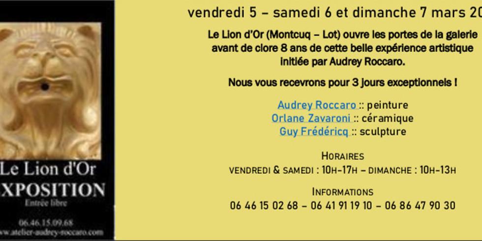 GALERIE DU LION D'OR - Montcuq (Lot)