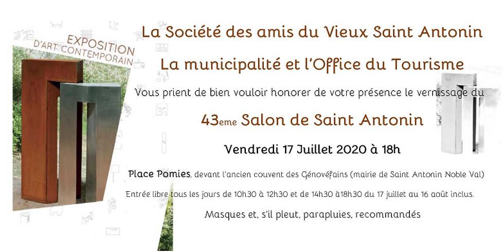 St Antonin Noble Val 43ème Salon d'Art contemporain