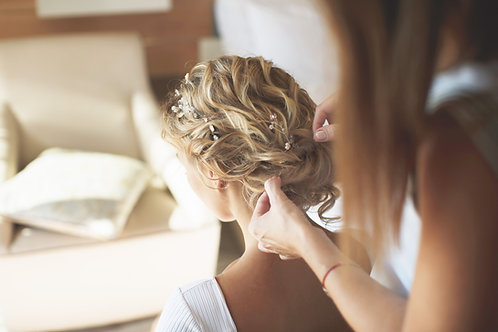 Bridal Trial Run - Bridal Hair Styling