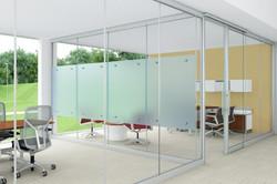 Стеклянные офисные перегородки SkyGlass