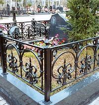 ограда на могилу, ограда на могилу из металла, ограда металлическая с элементами ковки, ограда из металла на захоронение, ограда на кладбище | Таганрог | Ростов-на-Дону