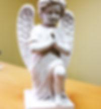 скульптура надгробная, скульптура из мрамора, скульптура ангела, скульптура молящийся ангел, скульптура ангелочек из мрамора, скульптура и мрамора, скульптура ангел из уральского мрамора, уральский мрамор коелга | Таганрог | Роств-на-Дону