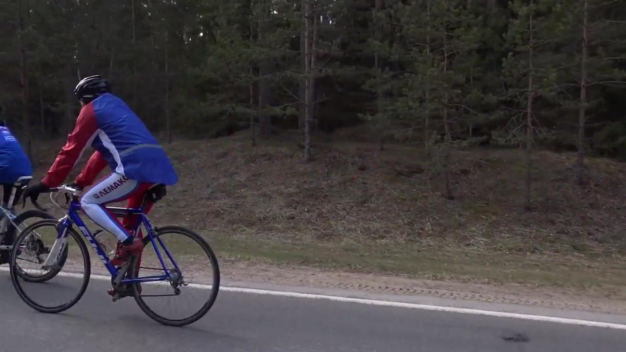 Велопробег Спасибо за Победу. Беларусь.