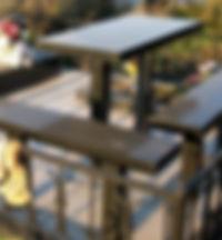 Ганитный стол и лавки, гранитные лавки, гранитный стол, гранитный стол и лавки из карельского гранита | Таганрог | Ростов-на-Дону
