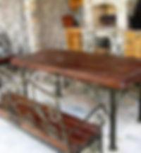 столы и лавки на могилу, лавка и стол из металла и дерева, лавка и стол с элементами ковки, лавка и стол из металла на захоронение | Таганрог | Ростов-на-Дону