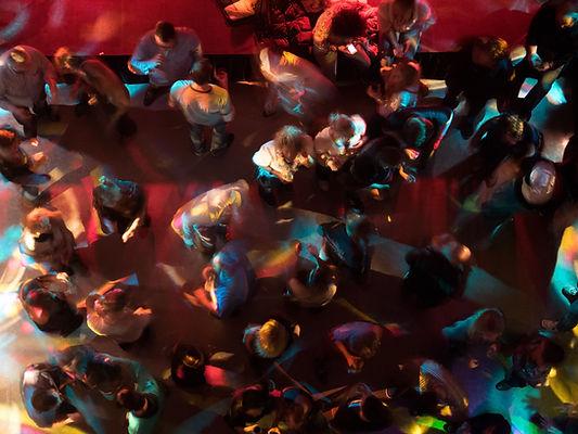Party auf der Tanzfläche