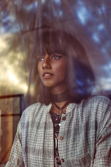 Publication: Jossbox, India. Rhea Gupte  Portrait   editorial   headshot    Photography   fashion designer   people   stylist   model   celebrity