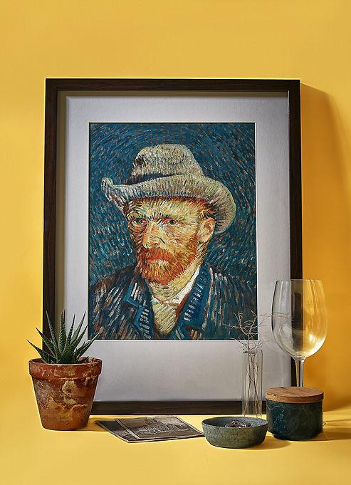 portrait of vangogh