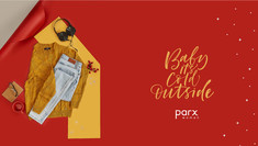 Brand: Parx, Mumbai, India.  Product styling | Product Photography | Winter | Auttum | women's wear | fashion | Clothing | Flatlay | tabletop