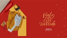 Brand: Parx, Mumbai, India.  Product styling | Product Photography | Winter | Auttum | women's wear | fashion | Clothing | Flatlay | tabletop