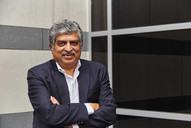 Publication: Morningstar, USA. Nandan Nilekani, the co-founder of Infosys  Portrait | editorial | headshot |  Photography | man corporate | people |