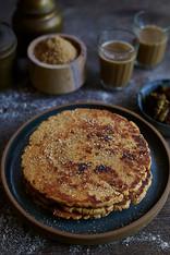 Creative collaboration: Thooda Aur, Mumbai, India.  Food styling |  Photography | Shakkar lola | Sindhi food | Indian bread | street food