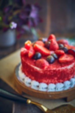 Food photographer and stylist   red velvet cake
