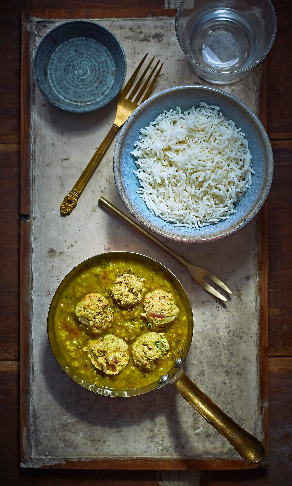 Food photography and styling of murg dal | Mumbai, India