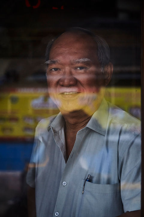 portrait of a indo chinies guy from mumbai