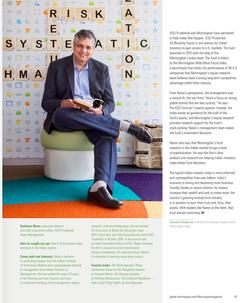 Publication: Morningstar, USA.  Portrait | editorial | headshot |  Photography | man corporate | people |