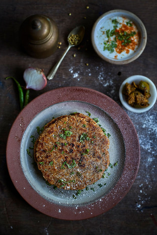 Creative collaboration: Thooda Aur, Mumbai, India.  Food styling   Food Photography   Onion Lola   Sindhi food