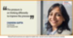 corporate portrait for chandani, ICICI india