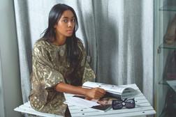 Publication: Jossbox, India. Allia Al Rufai  Portrait   editorial   headshot    Photography   fashion designer   people   stylist   women's fashion