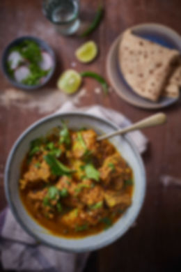 Food photographer and stylist | mutton curry