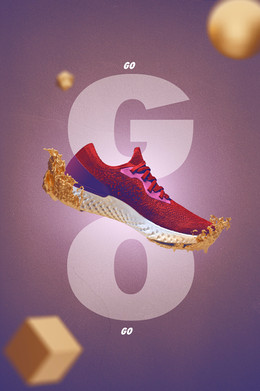 Sports Shoe  Sports | Active wear | Conceptual | product photography | art direction