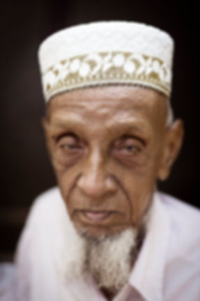 portrait of a old parsi man