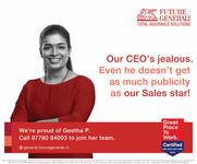 Brand: Future generali, India. Agency: Workship Asia, Mumbai, India.  Portrait | espression | Product Photography | celebrity | Advertisment | print campaign | people | corporate | headshot