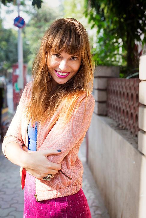 Bianca, Makeup artist, Editorial portrait for jossbox by shovona karmakar, Mumbai, India