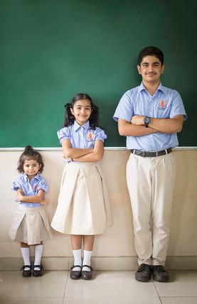 Brand: N L Dalmia High School, Mumbai, India.  Portrait | editorial | headshot |  Photography | school | kids |Advertisment | print campaign | people