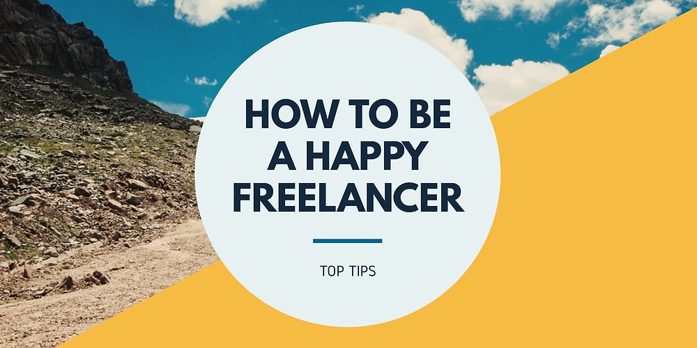 happy freelancer