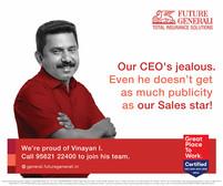 Brand: Future generali, India. Agency: Workship, Mumbai, India.  Portrait | espression | Product Photography | celebrity | Advertisment | print campaign | people | corporate | headshot