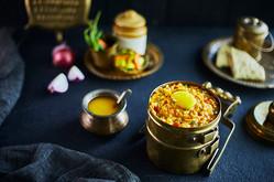 Creative Collaboration: Nitin Tondon, Mumbai, India.  Food Photography | Table Top | Food styling | Indian | Daal khichrdi | tiffin | homema