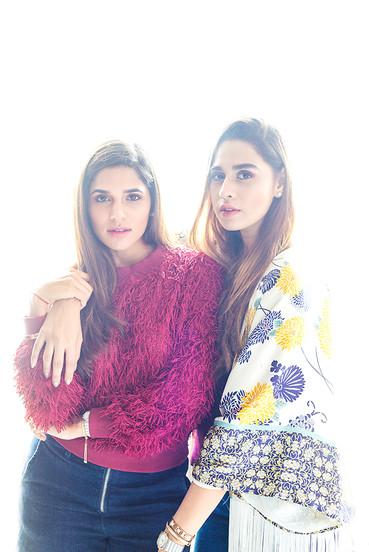 Publication: Jossbox, India. Mitali & Summiyya  Portrait   editorial   headshot    Photography   fashion designer   people   stylist   model   celebrity
