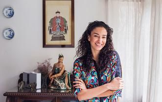 Publication: Jossbox, India. Elena fernandez  Portrait   editorial   headshot    Photography   fashion designer   people   stylist   model   celebrity