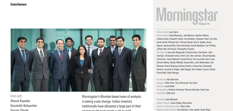 Publication: Morningstar, USA.  Portrait | editorial | headshot |  Photography | corporate | people | event