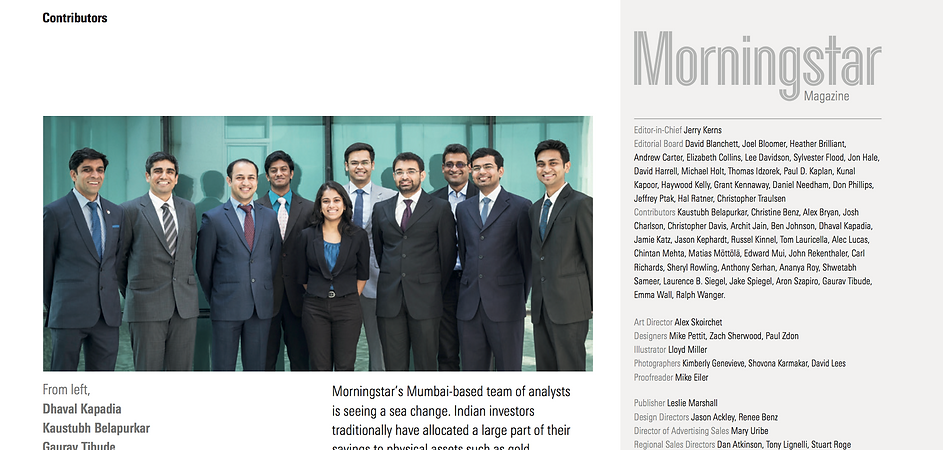 corporate portrait for morningstar by S