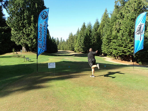 Courtesy Brad Henderson: BC Doubles Tournament Hole 1