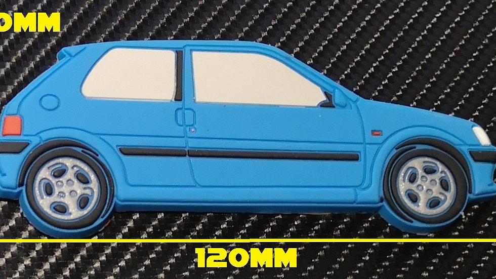 Peugeot 106 GTI Fridge Magnet Blue