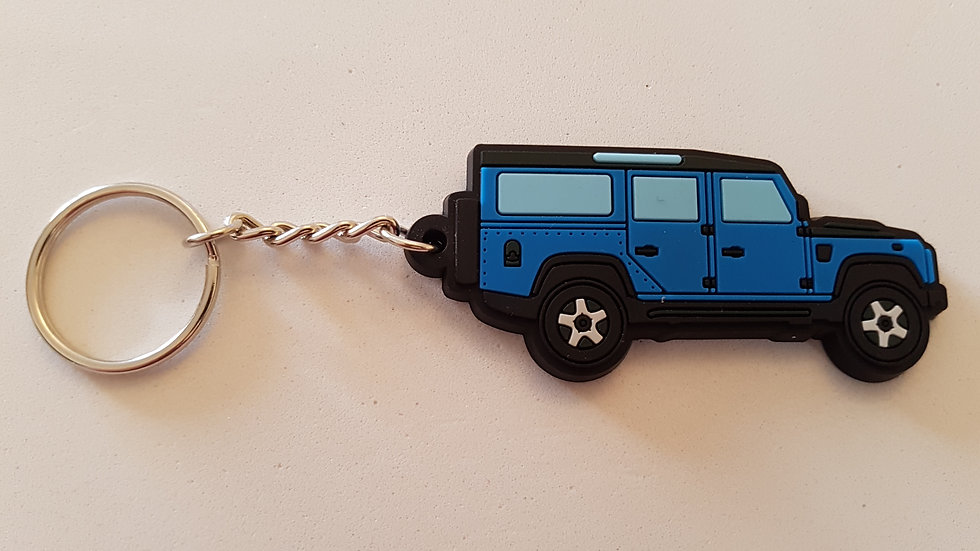 Landrover 110 Hardtop County Station Wagon Blue / Black Roof