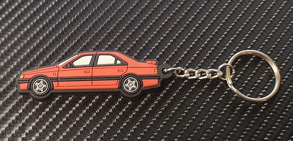 Peugeot 405 Mi16 / T16 Key Ring Red